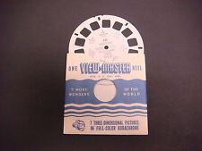 Sawyer's Viewmaster Reel,1948 Vancouver British Columbia Canada Lion's Gate 311