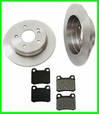 94 95 96 Mercedes C220 C280 Rear Brake Rotors & Pads