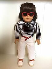 American Girl Just Like You Beach Outfit 2003-2006 Retired MIB