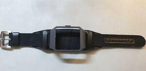 Sony SmartWatch 3 SWR50  BLACK GALAXY Housing & Black Leather & Nylon Strap