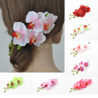 New Womens Flower Hair Clip Hairpin Bridal Hawaii Party Wedding Hair Accessories