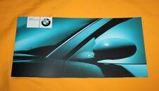 BMW M3 Convertible 2001 Prospekt Brochure Depliant Prospetto Catalog Folder E46