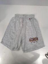 champion albion softball gray shorts large Vintage Sweatshirt 36-38