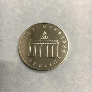 20 Mark DDR Öffnung der Brandenburger Tors 1990 CuNI st