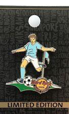 Hard Rock Cafe NY Yankee Stadium Corner Kicker Soccer Futbol Football Pin New LE