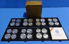 1976 MONTREAL OLYMPIC GAMES STERLING SILVER COIN SET