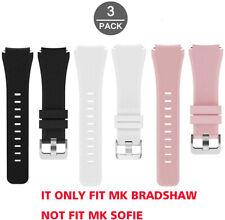Banda De Reemplazo De Silicona Clásico lamshaw Para Smartwatch s Michael Kors Bradshaw