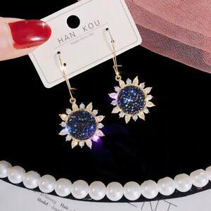 Gorgeous Crystal Cubic Zircon Earrings Stud Dangle CZ Wedding Jewelry Women Hot