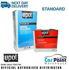 UPOL S2080 2k Car Acrylic Clearcoat Lacquer & S2032 Activator Hardener 7.5L KIT