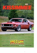 1969 FORD MUSTANG BOSS 429 FASTBACK / ROYAL MAROON  ~  NICE AUCTION AD