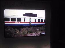 Original Slide train RR Station Yard Amtrak Rochester New York Turbo dock bay d