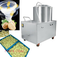 Commercial Potato Peeling Machine Auto Peeler Sweet Potato Quick Cleaning Clear