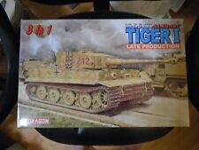 1/35 Dragon #6253 Tiger 1 Late production with Eduard Zimmert