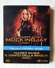 HUNGER GAMES - Il Canto Della Rivolta PARTE 1 - BluRay COLLECTOR STEELBOX (ITAL)