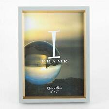 iFrame Grey and Gold Photo Frame - Freestanding Contemporary frame - Home Decor