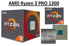 AMD Ryzen 3 PRO 1300 Quad Core ''Summit Ridge'' 3.5 - 3.7 GHz, AM4, 65W CPU