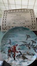 "Edwin M Knowles China Plate Co. ""Sharing� Limited Edition # 13193-A"
