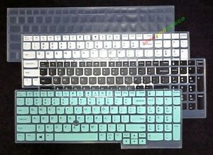 Keyboard Cover Skin Protector for Lenovo ThinkPad T15 E15 L15 P15 Gen 2
