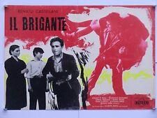 IL BRIGANTE dramma di Castellani con Di Fraia Seminario Vergano fotobusta 1961