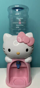 "Hello Kitty Water Drink Dispenser Cooler Bedroom Desk Decor Sanrio 19"" Tall"