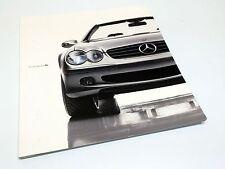 2003 Mercedes-Benz SL-Class SL 500 R230 Redesign Launch Brochure