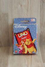 Jeu de cartes UNO Junior avec Winnie L'Ourson - cartes géantes pour les petits