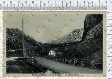 D220) FOTO CARTOLINA MONCENISIO SUSA TORINO LA GRAN SCALA  1914