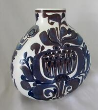 TENERA Fajance Vase by Kari Christensen  Royal Copenhagen Shape 427-3114