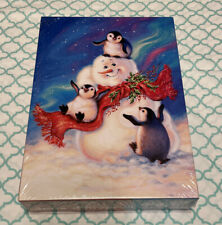 NEW Springbok Blizzard Buddies 60 Piece Winter Jigsaw Puzzle Snowman & Penguins