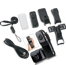 Mini DV DVR Thumb Hidden Digital Video Recorder Camera Spy Webcam Camcorder MD80