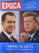 EPOCA n°528 1960 Sofia Loren - Garcia Lorca - Nixon & Kennedy  [C83]