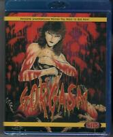 Gorgasm (Blu-Ray) NEW & SEALED! Limited Edition With Poster!