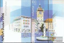 Suisse Bloc 41 (complète edition) neuf avec gomme originale 2006 Exposition phil