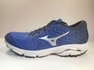 mens mizuno running shoes size 9.5 europe grey