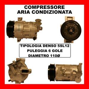 COMPRESSORE AC 13435 FIAT BRAVO II 1.6 D MJET DA 07 KW77 CV105 198A3000 844A3000