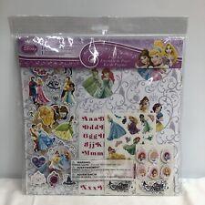Sandylion Sansc9007 Disney Princess Page Kit 12x12