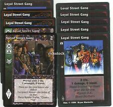 Loyal Street Gang x10 CE KoT VTES Jyhad