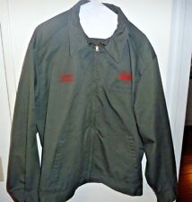 COCA COLA Poly Cotton Green Work Jacket Mens Size XL Special Events