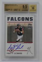 2004 Topps Signature #91 Matt Schaub AU/1499 Falcons 🔥 Beckett 9.5 GEM MINT