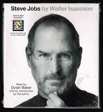 Steve Jobs by Walter Isaacson Read by Dylan Baker. 7 CD's, 8.5 hours, abbridged