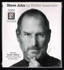 Steve Jobs by Walter Isaacson Read by Dylan Baker. 7 CD's, 8.5 hours, abbridged