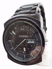 Diesel XLG Analog Black Bracelet Mens Watch DZ1474 Broken For Parts!!!