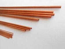 Tubetti   Rame Lunghezza mm 500, diametro int 1,1 mm - est 1,5 mm