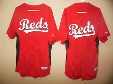 CINCINNATI REDS GAME USED BASEBALL JERSEY