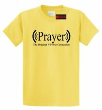 Prayer Original Wireless Connection Funny Prayer T Shirt Religious God Cute Tee