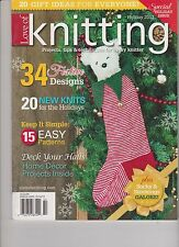 LOVE OF KNITTING MAGAZINE HOLIDAY ISSUE 2013.