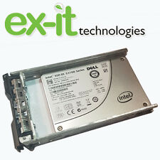 """58DVD Dell Enterprise 400GB SSD SATA Drive 2.5"""" 6Gbps S3700 for R720 with TRAY"""