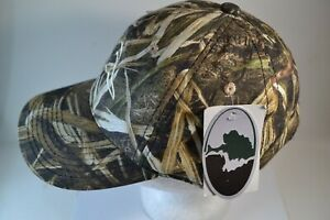 Ducks Unlimited Mossy Oak Tree Camo Strapback Cap Hat New With Tags