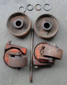 Hein-Werner- WS 1 1/2 ton Floor Jack 4 Wheels Used