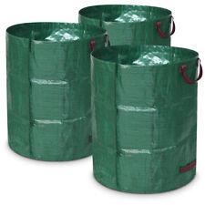 3x Gartenlaubsack 120 Liter Rasensack Laubsack Abfallsack